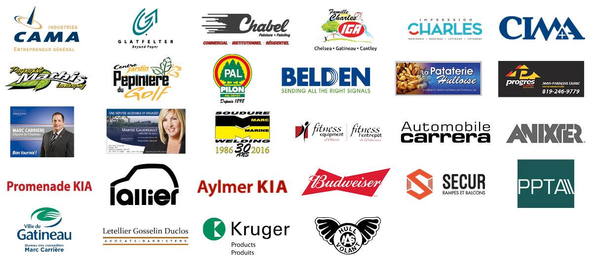 Montage logos